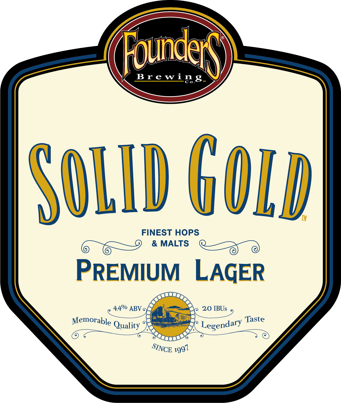 Founders Solid Gold logo