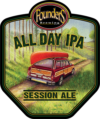 Founders All Day IPA logo