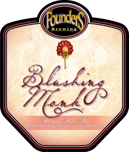 Founders Blushing Monk logo