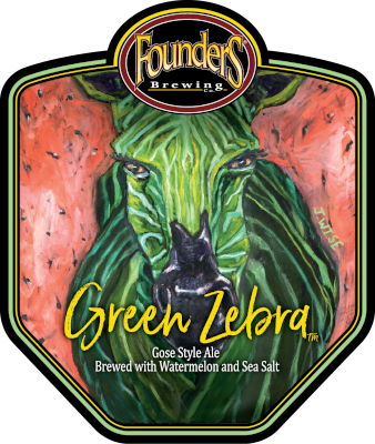 Founders Green Zebra logo