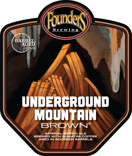 Founders Underground Mountain logo